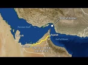 Vận hành đường ống dẫn dầu đầu tiên vòng qua eo biển Hormuz
