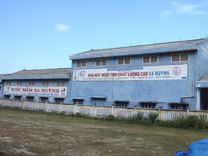 Quảng Ngãi bán nhà máy muối tinh chất lượng cao Sa Huỳnh