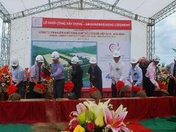 HBC khởi công xây dựng nhà máy Esquel Hòa Bình