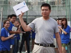 New iPad ra mắt yên ổn ở thị trường Trung Quốc