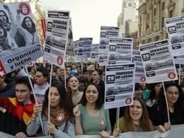 Biểu tình phản đối giảm chi tiêu bùng phát trên toàn Tây Ban Nha