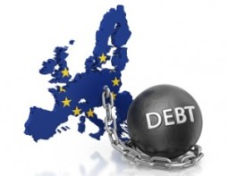 Nợ công eurozone tăng lên gần 90% GDP nửa đầu 2012