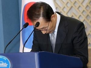 Tổng thống Hàn Quốc xin lỗi vì vụ bê bối tham nhũng