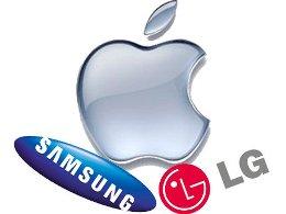 LG được hưởng lợi từ cuộc chiến bản quyền giữa Apple và Samsung