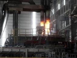 Khởi động nhà máy luyện thép lớn nhất Đông Nam Á