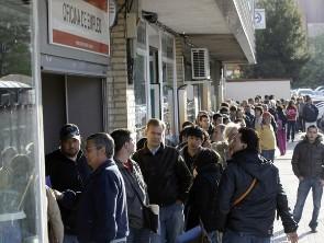 1/4 dân số Tây Ban Nha thất nghiệp