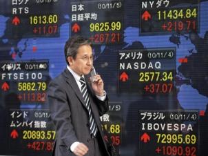 Chứng khoán châu Á hướng đến tăng mạnh nhất 8 tháng