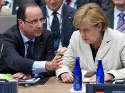 Đức, Pháp cam kết làm mọi việc để bảo vệ eurozone