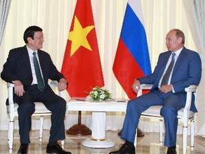 Việt – Nga ra Tuyên bố chung về tăng cường quan hệ