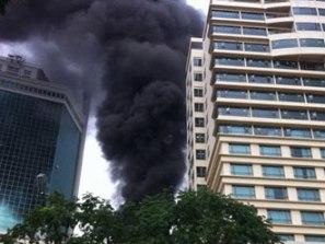 Cháy khách sạn Sofitel Saigon
