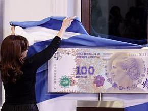 Argentina gây tranh cãi do phát hành tiền mệnh giá thấp