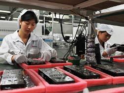 Sản xuất Trung Quốc tăng chậm nhất 8 tháng