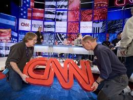 Xếp hạng của CNN tiếp tục lao dốc