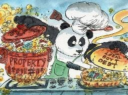 Giá bất động sản và nợ chính quyền địa phương Trung Quốc tăng mạnh trở lại