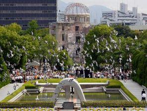 Nhật Bản tưởng niệm 67 năm Hiroshima bị ném bom nguyên tử