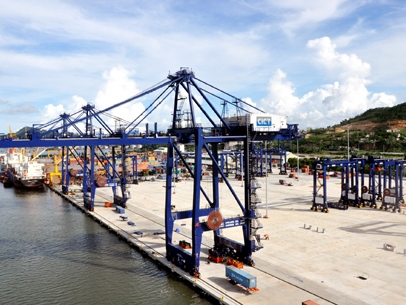 Hoàn thành công tác xây dựng cầu cảng số 3 và 4 cảng Cái Lân