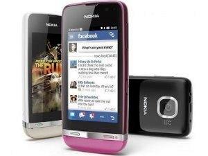 Dòng điện thoại cảm ứng giá rẻ của Nokia lên kệ