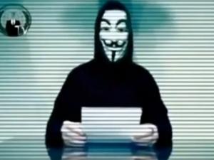 Nhóm Anonymous đe dọa trả thù chính phủ Ukraine
