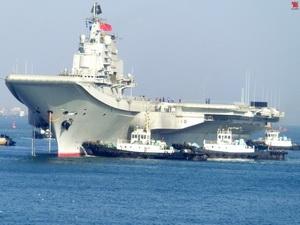 Trung Quốc đưa vào trực chiến tàu sân bay đầu tiên từ ngày 1/10 tới