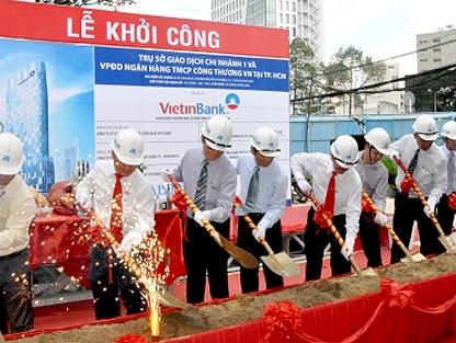 Khởi công cao ốc 25 tầng của VietinBank tại quận 1, TPHCM