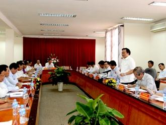 Đẩy nhanh các dự án hạ tầng trên địa bàn tỉnh Trà Vinh