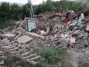 Hình ảnh Iran bị tàn phá sau hai trận động đất mạnh