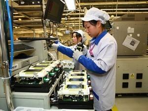 Lượng xuất xưởng hàng công nghệ Đài Loan giảm