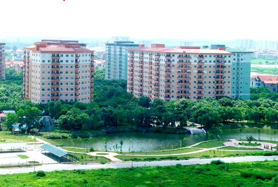 Xây 7 tòa chung cư cao 12 - 18 tầng tại Linh Đàm