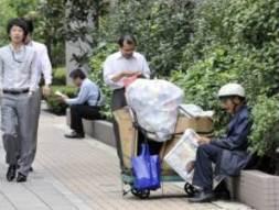 Số người Nhật sống dưới chuẩn nghèo ngày càng tăng