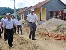 Quảng Ngãi tăng vốn dự án di dân, tái định cư hồ chứa nước Nước Trong thêm hơn 280 tỷ đồng