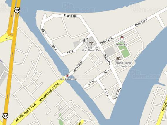 Điều chỉnh quy hoạch phân khu khu đô thị Bình Quới - Thanh Đa