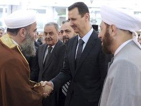 Tổng thống Syria bất ngờ xuất hiện trước công chúng