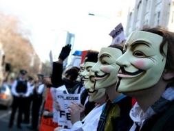 Tin tặc Anonymous tấn công hàng loạt web chính phủ Anh
