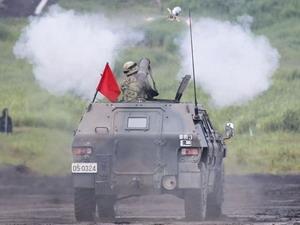 Nhật Bản tiến hành diễn tập bắn đạn thật thường niên