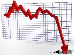 Thị trường chứng khoán có phiên giảm mạnh nhất kể từ khi đi vào hoạt động