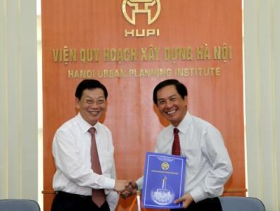 Bổ nhiệm Viện trưởng Viện Quy hoạch Xây dựng Hà Nội