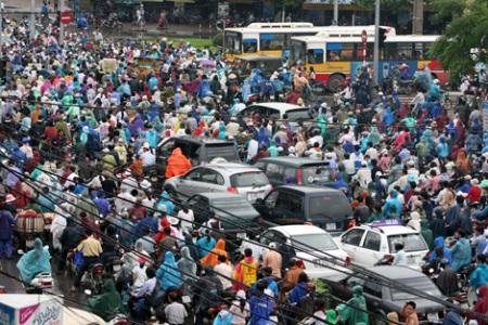 Hà Nội đề xuất cấm các phương tiện cá nhân trên một số tuyến từ 2012