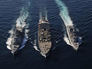 Tàu chiến Mỹ-Trung-Nhật sắp thăm cảng của Nga