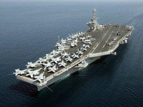 Mỹ đưa tàu sân bay trở lại vùng Vịnh đối phó Iran, Syria