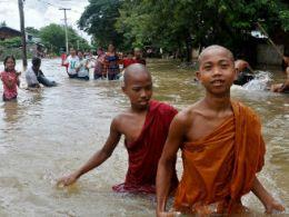 85.000 người tại Myanmar sơ tán do lũ lụt