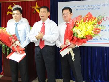 Bổ nhiệm Giám đốc VietinBank Hà Nội