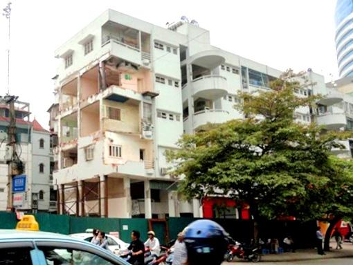 Đề xuất xây mới chung cư 51 Huỳnh Thúc Kháng cao 17 tầng