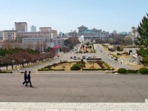 Triều Tiên xây trung tâm thương mại tầm cỡ quốc tế