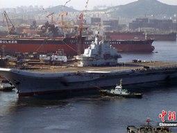Tàu sân bay Trung Quốc chạy thử trước khi đưa vào trực chiến