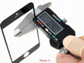 Màn hình iPhone 5 mỏng hơn giúp dung lượng pin tăng 40%