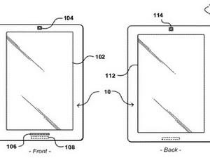 Amazon được cấp bằng sáng chế máy tính bảng hai mặt
