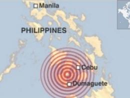 Động đất 7,9 độ richter rung chuyển Philippines
