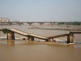 Những cây cầu lớn tại Trung Quốc từng bị sập