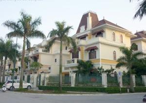 Giá biệt thự Ciputra xuống dưới 200 triệu đồng/m2
