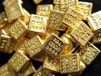 Giá vàng tiếp tục tăng tại châu Á phiên đầu tuần